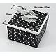 Cardboard Jewelry BoxesUK-CBOX-H046-30B-1