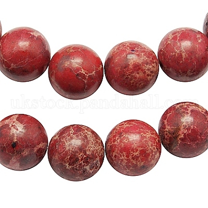 Synthetic Regalite/Imperial Jasper/Sea Sediment Jasper Beads Strands UK-G-H014-3-1-1