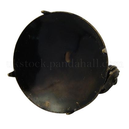 Brass Brooch FindingsUK-KK-A021-AB-1