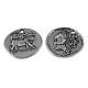 Tibetan Style Coin PendantsUK-LF11501Y-1