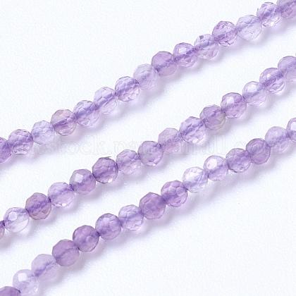 Natural Amethyst Beads StrandsUK-G-F568-166-2mm-1