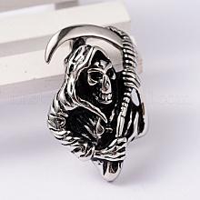Death 304 Stainless Steel Pendants