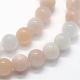 Natural Pink Aventurine Beads StrandsUK-G-I199-22-6mm-3