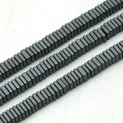 Non-magnetic Synthetic Hematite Beads StrandsUK-G-K003-3mm-07F-K-1