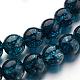 Dyed Natural Crystal Bead StrandsUK-G-UK0001-21-8mm-1