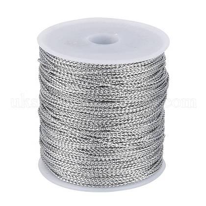 1mm Jewelry Braided Thread Metallic CordsUK-MCOR-S002-02-1
