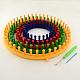 Plastic Spool Knitting Loom for Yarn Cord KnitterUK-TOOL-R075-01-1