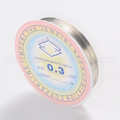 Copper Jewelry WireUK-CWIR-CW0.3mm-06-1