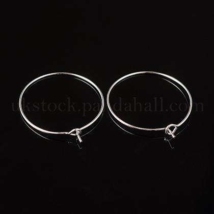 Brass Wine Glass Charm RingsUK-EC067-2S-1