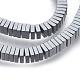 Non-magnetic Synthetic Hematite Beads StrandsUK-G-k003-3mm-07-K-3