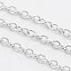Platinum Color Brass Cable ChainsUK-X-CH030-2